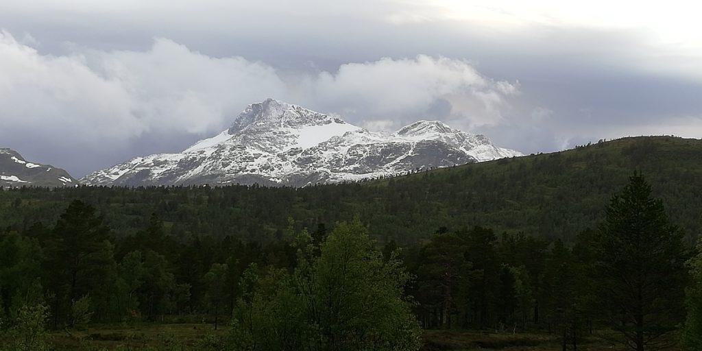 snö på snota